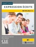 Expression écrite 3 Niveau B1  Livre + audio en ligne 2ème édition سیاه سفید