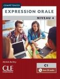 Expression orale 4  Niveau C1 Livre + CD 2ème édition سیاه سفید
