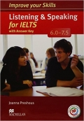 Improve Your Skills for IELTS Listening & Speaking for IELTS 6.0-7.5