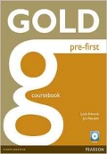 Gold Pre-first coursebook+exam