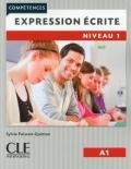 Expression écrite 1 Niveau A1 Livre + audio en ligne 2ème édition رنگی