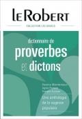 Le Robert Dictionnaire de proverbes et dictons