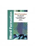 ساخت واژه Word Formation