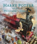 Harry Potter and the Philosophers Stone Illustrated Edition Book 1