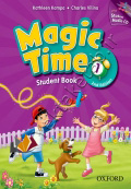 Magic Time 1 Student Book & Workbook 2nd Edition with CD