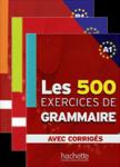 کتابهای آموزش زبان فرانسوی Les 500 Exercices Grammaire