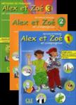 کتابهای آموزش زبان فرانسوی Alex et Zoe